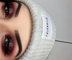 eyebrow, eyes, and eyeshadow image