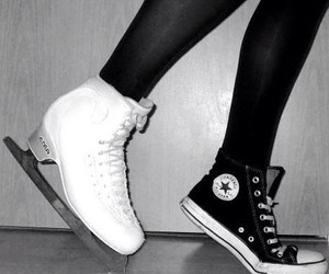 converse and ice skater image