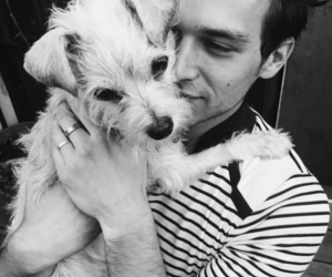 13 reasons why, brandon flynn, and dog image