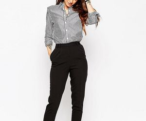 blazer, tshirt, and ootd image