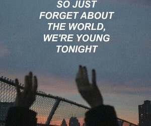 quotes, young, and night image