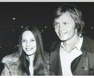 black and white, jon voight, and marcheline bertrand image