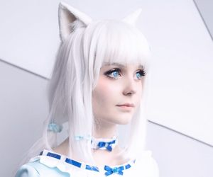 aesthetics, bows, and cosplay image