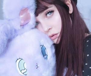 aesthetics, bunny, and bangs image