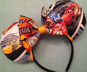 cars, mickey ears, and disney image