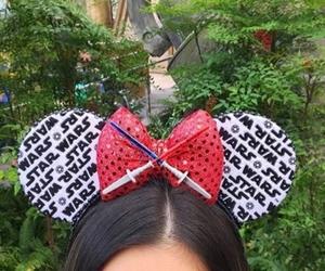 disney, mickey ears, and star wars image