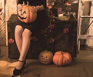 Halloween, hashimoto kanna, and japan image
