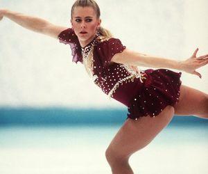 figure skating, tonya harding, and history image