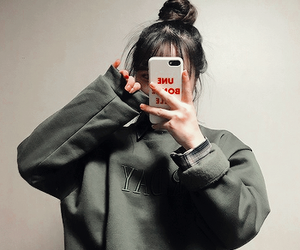 aesthetic, ulzzang, and casual image