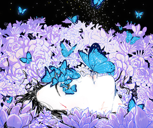 illustration and aster hung image
