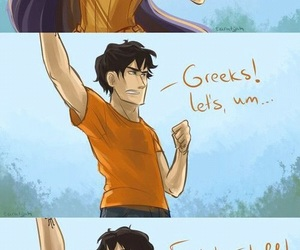 percy jackson, Reyna, and funny image