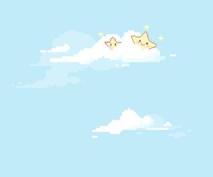 kawaii, sky, and star image
