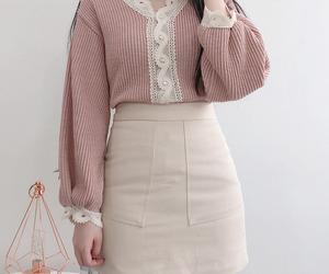 fashion, style, and korean fashion image