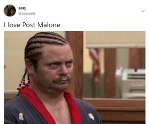 funny and post malone image