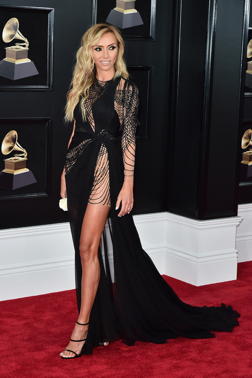 dress, grammys, and red carpet image