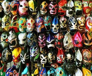 luchador, mask, and masks image