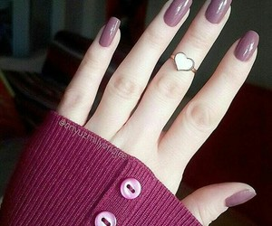 nails, nice, and ring image