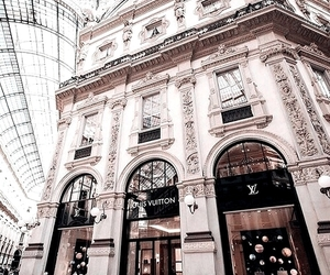 Louis Vuitton, luxury, and building image