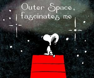 cartoon, snoopy, and stars image