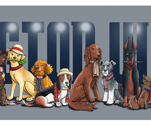 doctor who, fanart, and dogs image