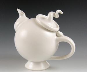 quirky, tea, and teapot image
