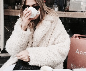 fashion, beautiful, and coffee image