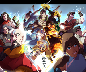 anime, avatar, and the legend of korra image