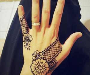art, tattoo, and mendhi image