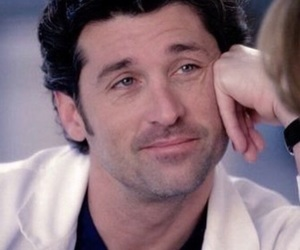 grey's anatomy and derek shepherd image