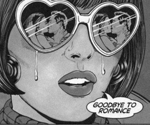 romance, goodbye, and sad image