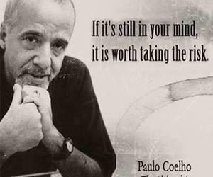 quotes, risk, and paulo coelho image
