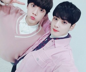 astro, kpop, and sanha image