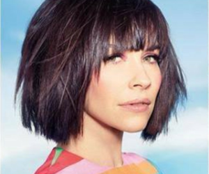 hair, her hair, and short image