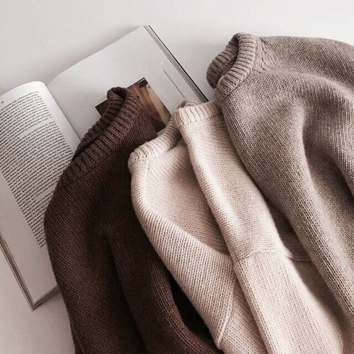 sweater, book, and autumn image