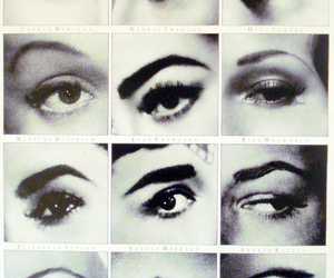 eyes, eyebrows, and audrey hepburn image