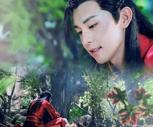 red, deng lun, and princess agents image