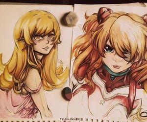 anime, japan, and Otaku image