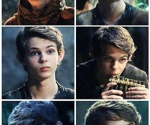 robbie kay, peter pan, and ouat image