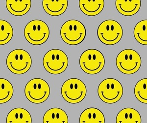 pattern, smile, and wallpaper image