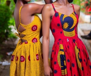 dress and african dress image
