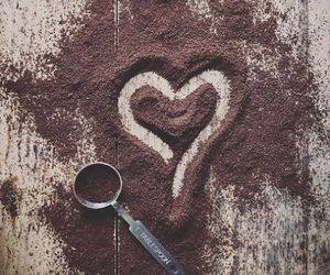 heart, love, and coffee image
