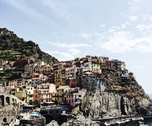 italy, manarola, and travel image