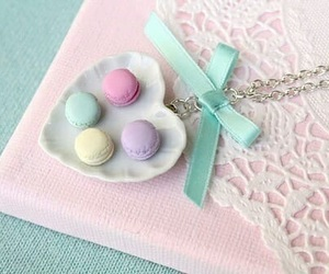 cute, macaroons, and pastel image