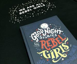 book, feminism, and rebel image