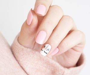 beautiful clothes fashion, nails art pastel, and aesthetic indie pale image