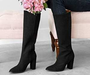 black, petit four, and boots image