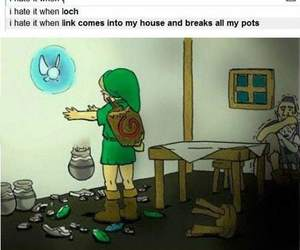 funny, link, and pots image