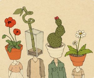 plants, flowers, and people image