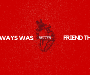better, than, and friend image