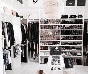 fashion, closet, and clothes image